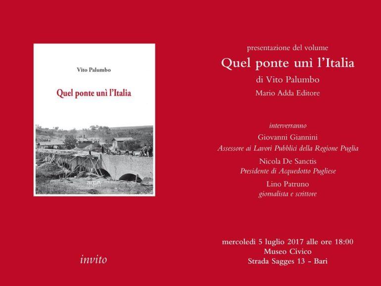 Presentazione-libro-Quel-ponte-unì-l'Italia-museo-civico.bari