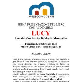 Libro-audiolibro-LUCY-museo-civico-bari