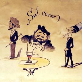 Caricatura di scene di vita mondana barese - Museo Civico Bari