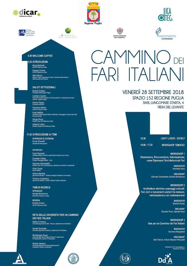 CAMMINO DEI FARI ITALIANI